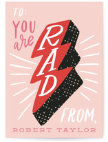 You are Rad Classroom Valentine's Day Cards