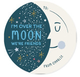 Over the Moon Classroom Valentine's Day Cards