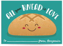 All You Knead Classroom Valentine's Day Cards