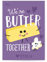 Butter Together Classroom Valentine's Day Cards
