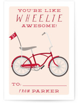 Wheelie Classroom Valentine's Day Cards