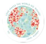 Lovely World Classroom Valentine's Cards
