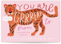 Great Tiger Classroom Valentine's Cards