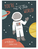 Out of This World Classroom Valentine's Day Cards