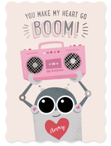 Robot with a Boombox