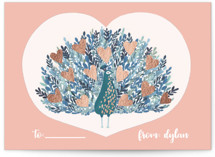 Peacock Blooming Love by Afton Harding
