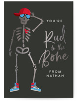 Rad to the Bone Foil-Pressed Classroom Valentine's Day Cards
