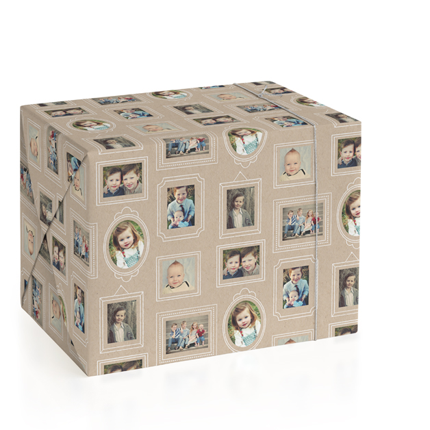Krafted Frames Wrapping Paper