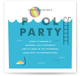 Cool Blue Pool Party by Morgan Ramberg