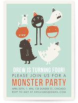 Monster Party by Lisa Nelson