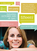 Thoughts On Birthday Girl Children's Birthday Party Online Invitations