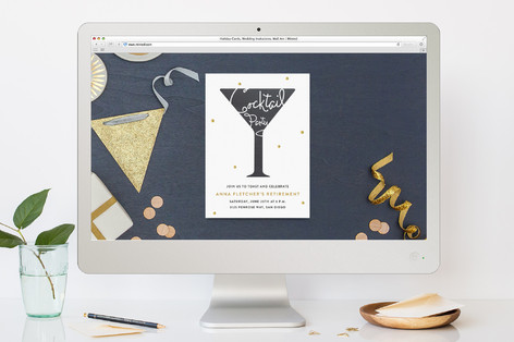 Cocktail Party Cocktail Party Online Invitations