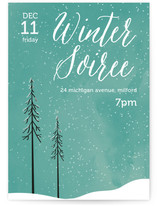 Snowed Night-In Holiday Party Online Invitations