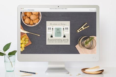 Charming Housewarming Housewarming Party Online Invitations