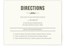 Vintage Celtic Knot Direction Cards