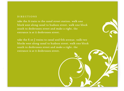 Bloom Directions Cards