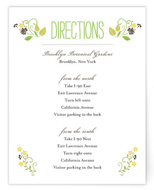 A Bloomin' Wreath Directions Cards