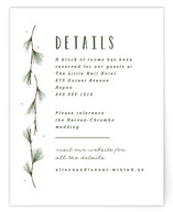 Rustic Wedding Direction Cards