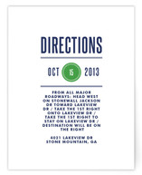 Modern Prep Direction Cards