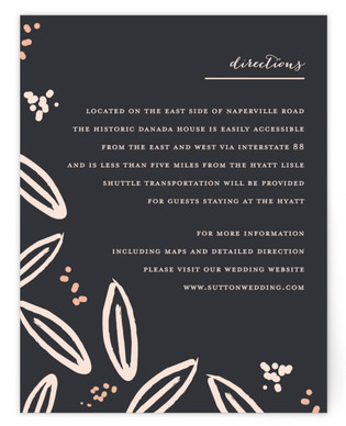 Modern Meadow Directions Cards