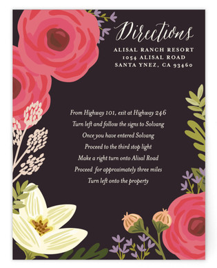 Rhapsody Directions Cards