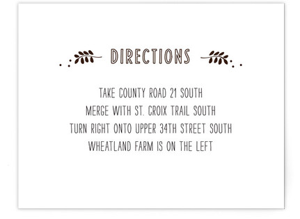 Picnic Basket Directions Cards