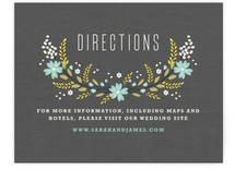 Botanical Blooms Direction Cards