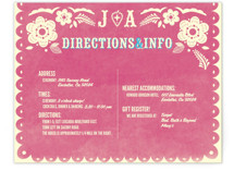 Papel Picado Direction Cards