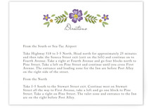 Wisteria Direction Cards
