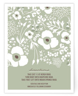 Winter Florals Direction Cards