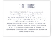 Down by the Sea Direction Cards