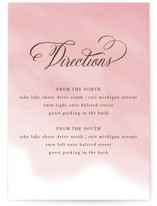 Watercolor Wash Direction Cards