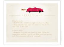 Vintage Car (Bonnie Ride) Direction Cards