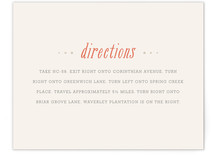 Waverly Direction Cards