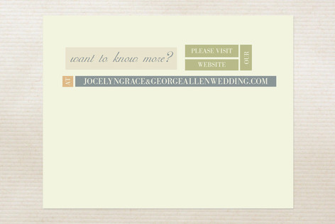 Modern Elegance Direction Cards