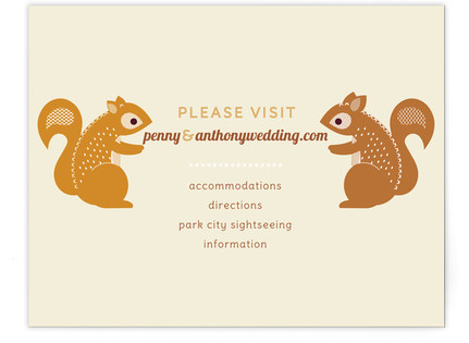 I'm Nuts for You Directions Cards
