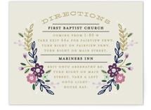Wildflower Crest Direction Cards