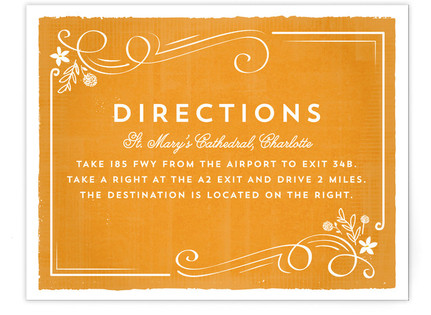 Tuscan Directions Cards