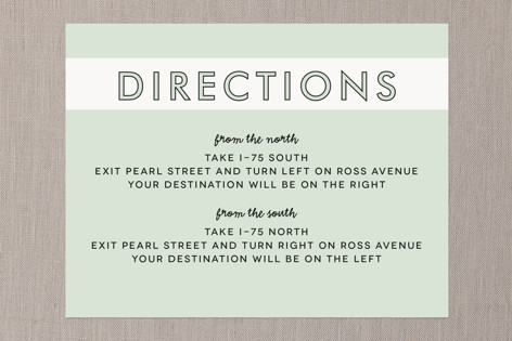 Read Between the Lines Direction Cards