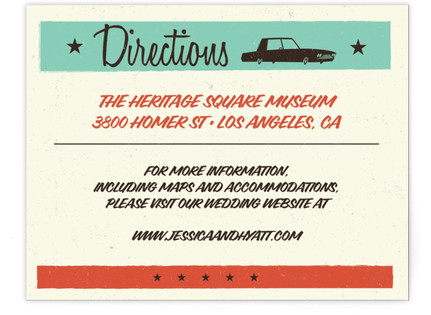 MidCentury Poster Board Directions Cards