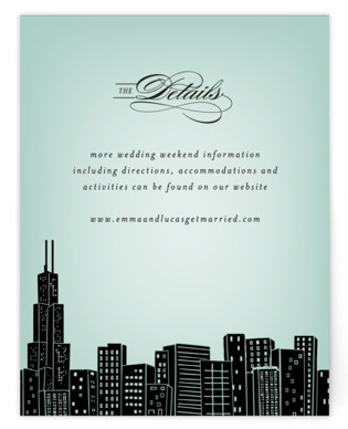 Big City - Chicago Directions Cards