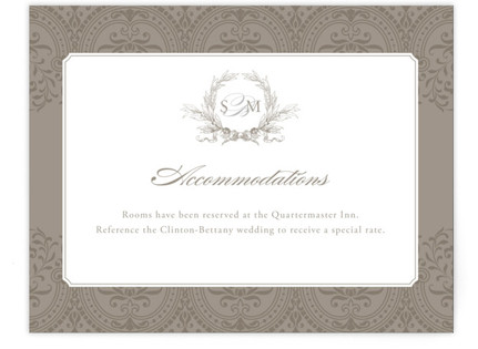 Formalities Directions Cards