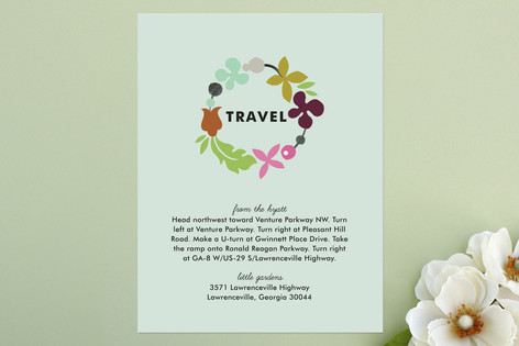 Celebrate Florals Direction Cards