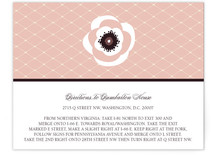 White French Anemone Direction Cards
