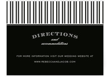 Soiree Directions Cards