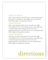 float + celebrate Direction Cards