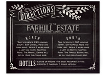 Slated Forever Direction Cards