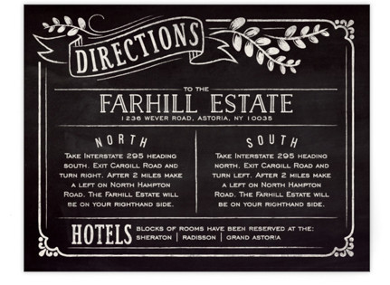 Slated Forever Directions Cards