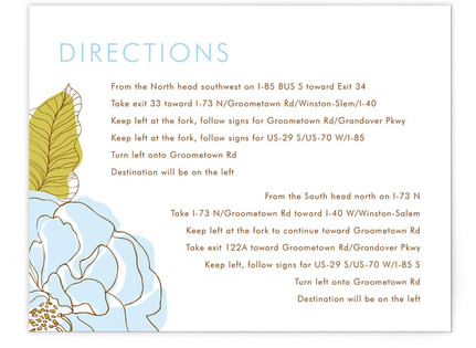 Simple Sophisticate Directions Cards