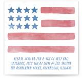 Stars & Stripes 4th of July Online Invitations